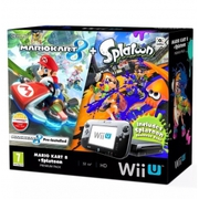 Nintendo Wii U Premium Pack 32GB Console With Mario Kart 8 & Splatoon