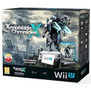 Nintendo Wii U 32GB Xenoblade Console Black with Exclusive Artbook and