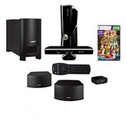 Microsoft Xbox360 4GB Console w/ Kinect & Bose HT